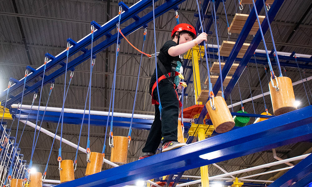 On the Fly - Ropes Course